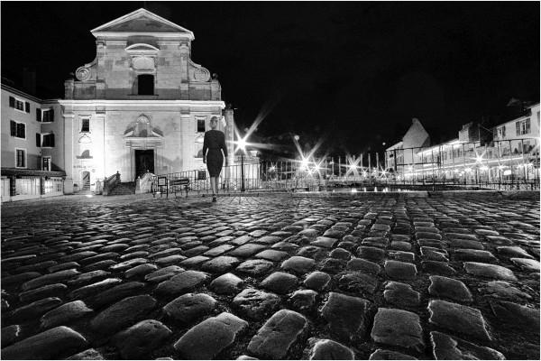 17. Annecy by night  Guy Dauvergne