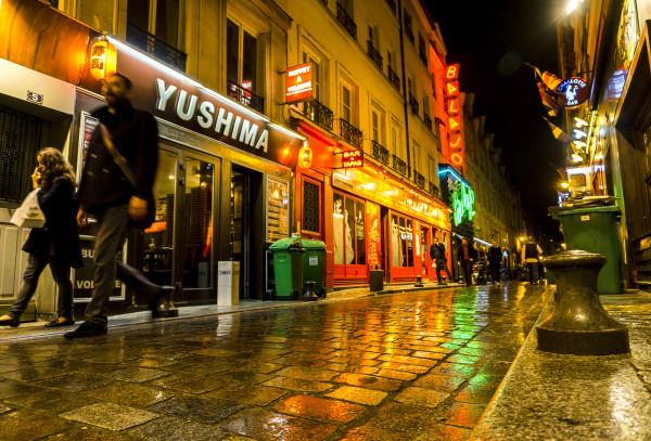 23. Rue de Lapp après la pluie Michel Neuwirth