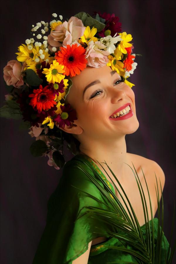 2. flower girl Isabelle Herbepin  Photo Club de Bourgoin-Jallieu