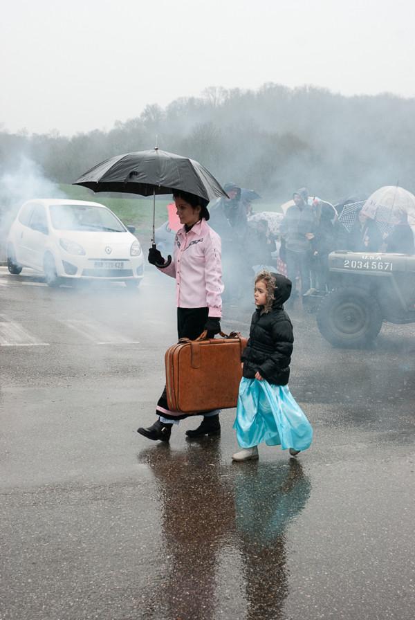 20 Carnaval sous la pluie Chantal Dazord