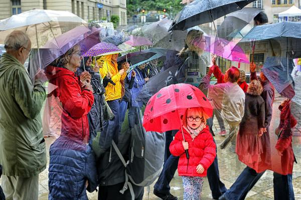 12 sous mon parapluie Jean-michel Leverne