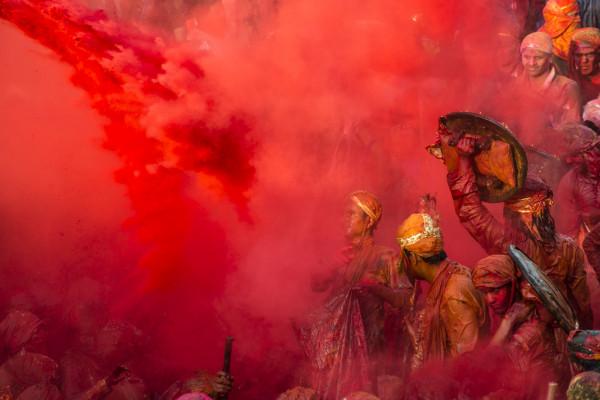 22. HOLI, fête des couleurs en Inde Marie-Catherine Demorge  JPEG Photo Club St Martin Bellevue